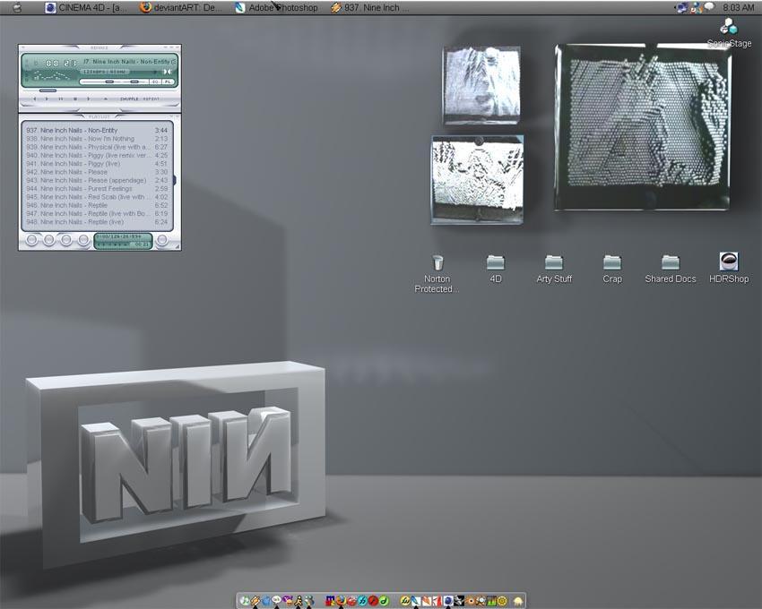 Only Desktop by DementdPrncess