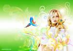 Elisha Cuthbert, fresh green