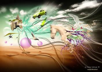 my fantasy landscape 1 by sunjaya