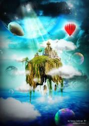 my fantasy landscape 2 by sunjaya