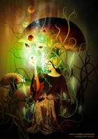 fantasy maiden mushrooms