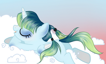 Posing on a Cloud by MysteriousShine