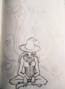 Witchtober day 15: evil spirits