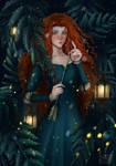 Merida Fanart from Brave