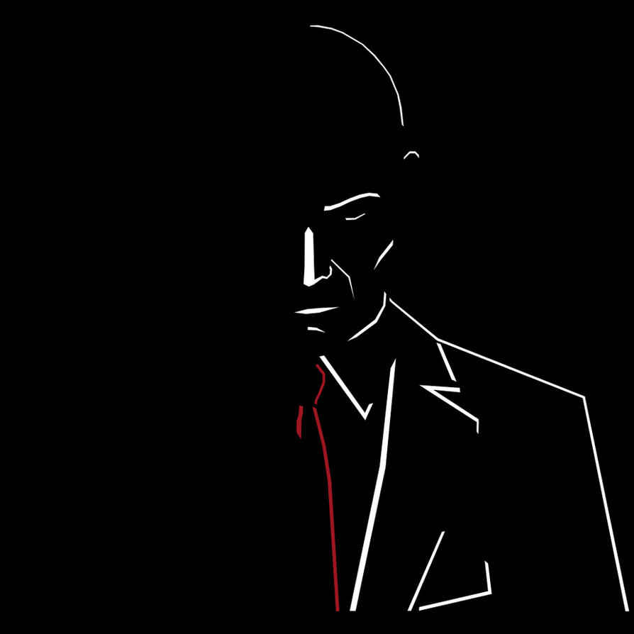 Hitman Wallpaper: Minimalist Agent 47 (Hitman) By JohnLennon92 On DeviantArt