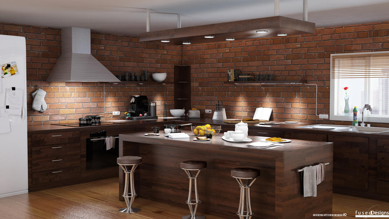 ... Modern Kitchen Design #2 By LittelFuse