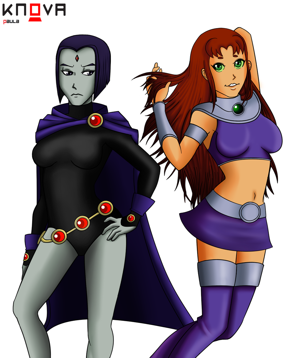 Starfire Raven Teen Titans Lesbian Relationship Pictures Gallery.