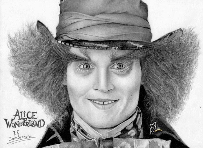 Johnny Deep (The Mad Hatter) by ArtePau2000
