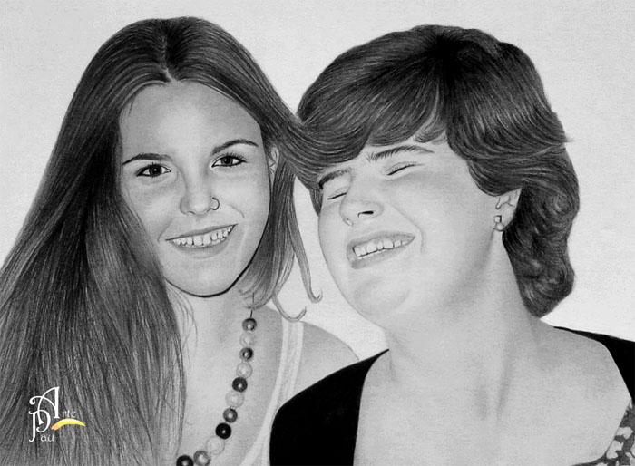 Inma and Laura by ArtePau2000
