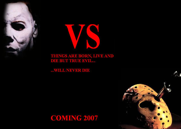 Jason vs Michael by codenameX