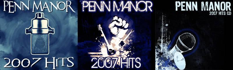 Penn Manor Hits CD Covers