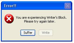 Writers Block by Silvercharmed