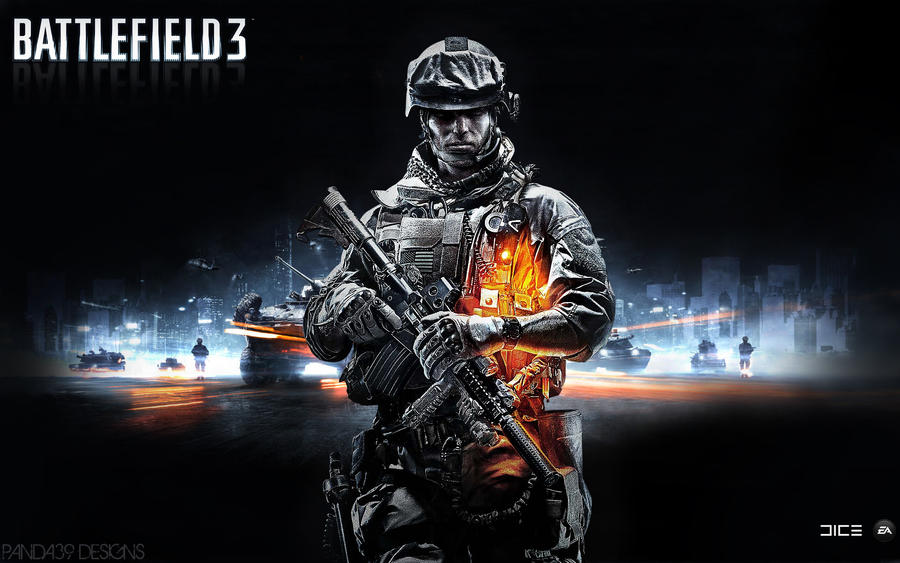 Battlefield 3 hd wallpaper by panda39 on deviantart battlefield 3 hd wallpaper by panda39 voltagebd Images