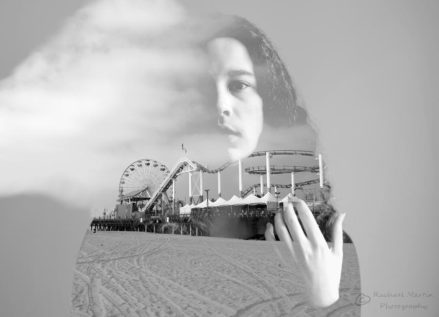 Santa Monica Pier by VisualPoems