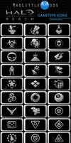 Halo Reach GameType Icons