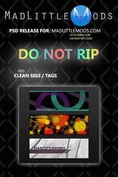 Clean Sig Tag Pack1 by MadLittleMods