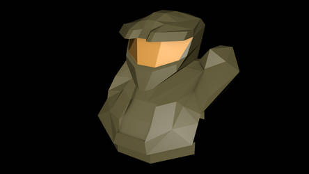Master Chief rev. 1 (Low Poly)