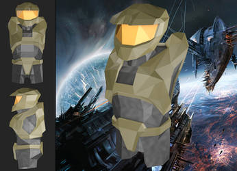 Master Chief rev. 2 (Low Poly)