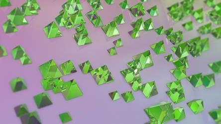Abstract Refraction: Planar Pyramids