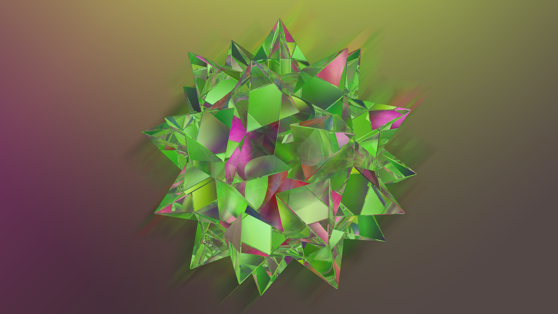 Abstract Refraction: Spiky Ball