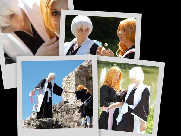 Collage 2 - Gin x Rangiku by Jealles