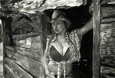 female form xi: jordan caver by BOYKINS