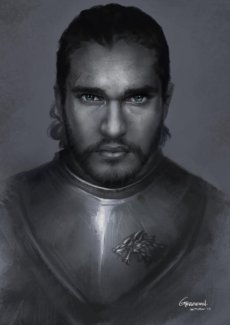 Game of Thrones - Jon Snow [The King in The North] by Grizzern