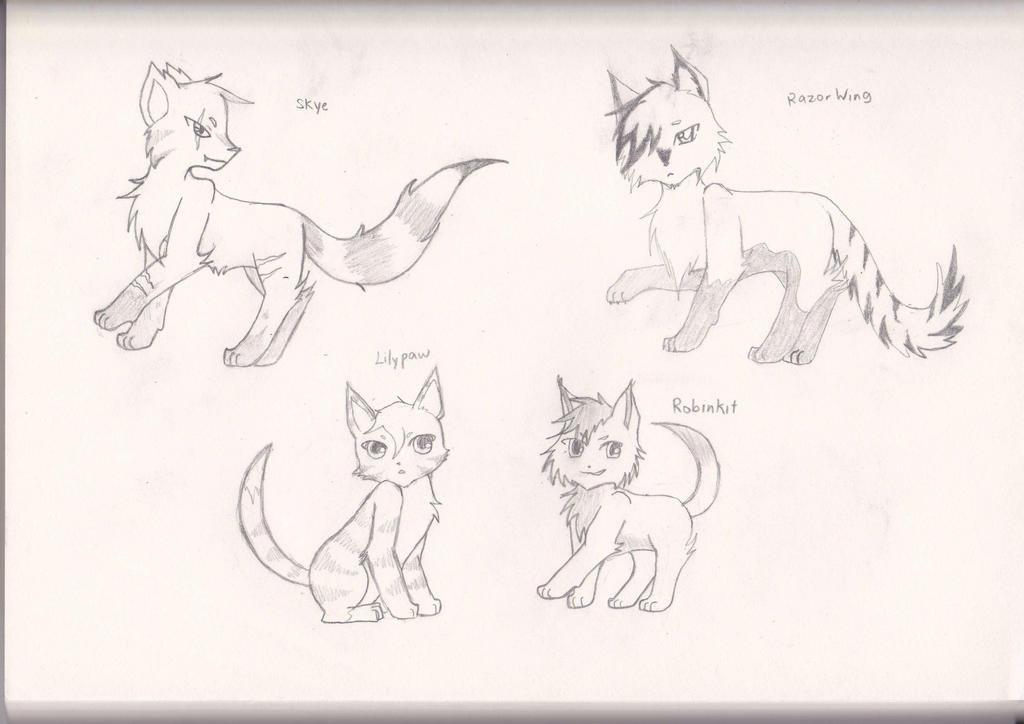 Dark Order Sketches by Jayfeather97