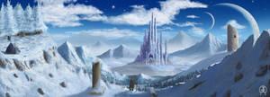 Snow Castle by Spacepretzel