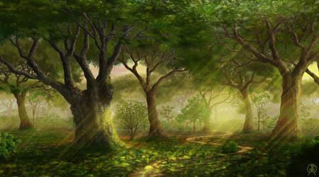 Forest Place by Spacepretzel