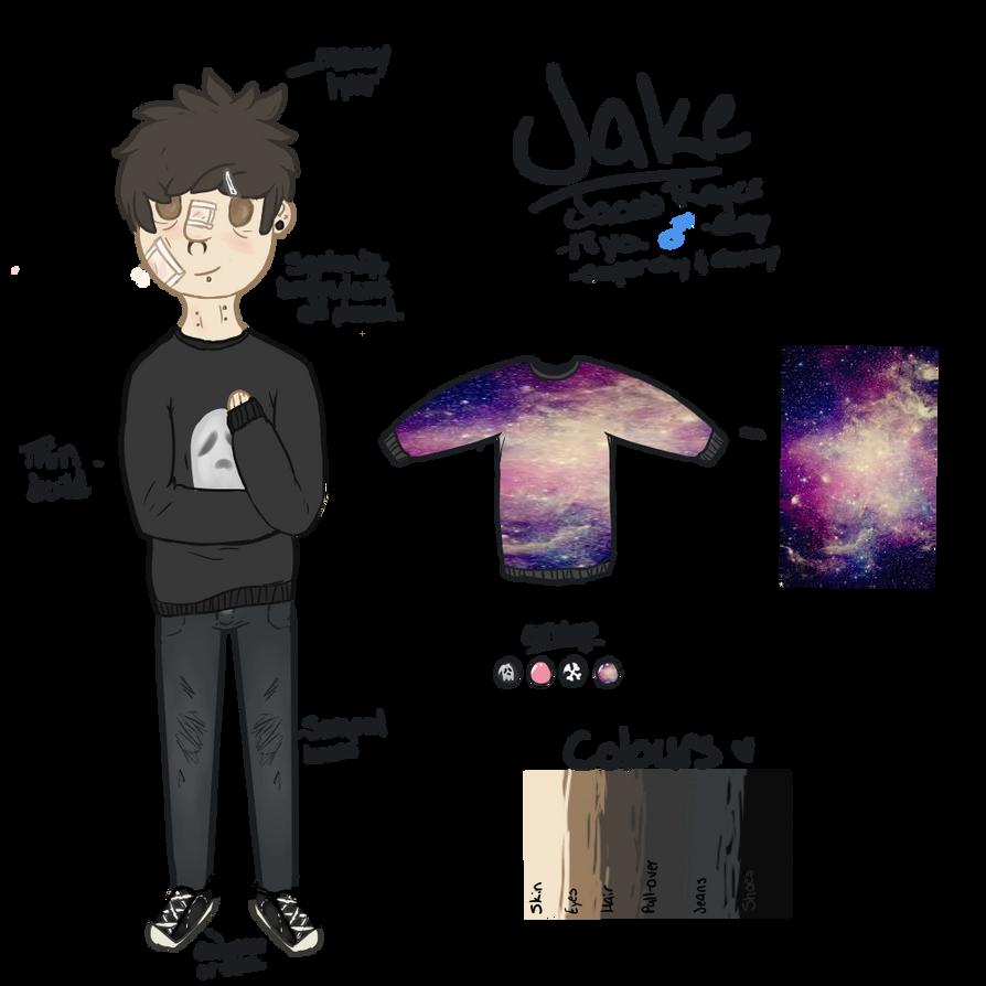 Jake temp. reference 2014 by XPaintedHeartX