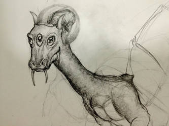 100D2 Day 18 - Dragon Head