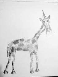 100D2 Day 19 - Girafficorn