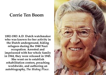 40 Powerful Quotes from Corrie Ten Boom by MatakietheHedgewolf on ...