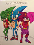 Sonic Underground Colored!
