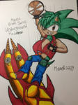 Manic from Sonic Underground Redone Colored!