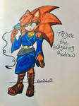 Thyme the Hedgehog Colored!