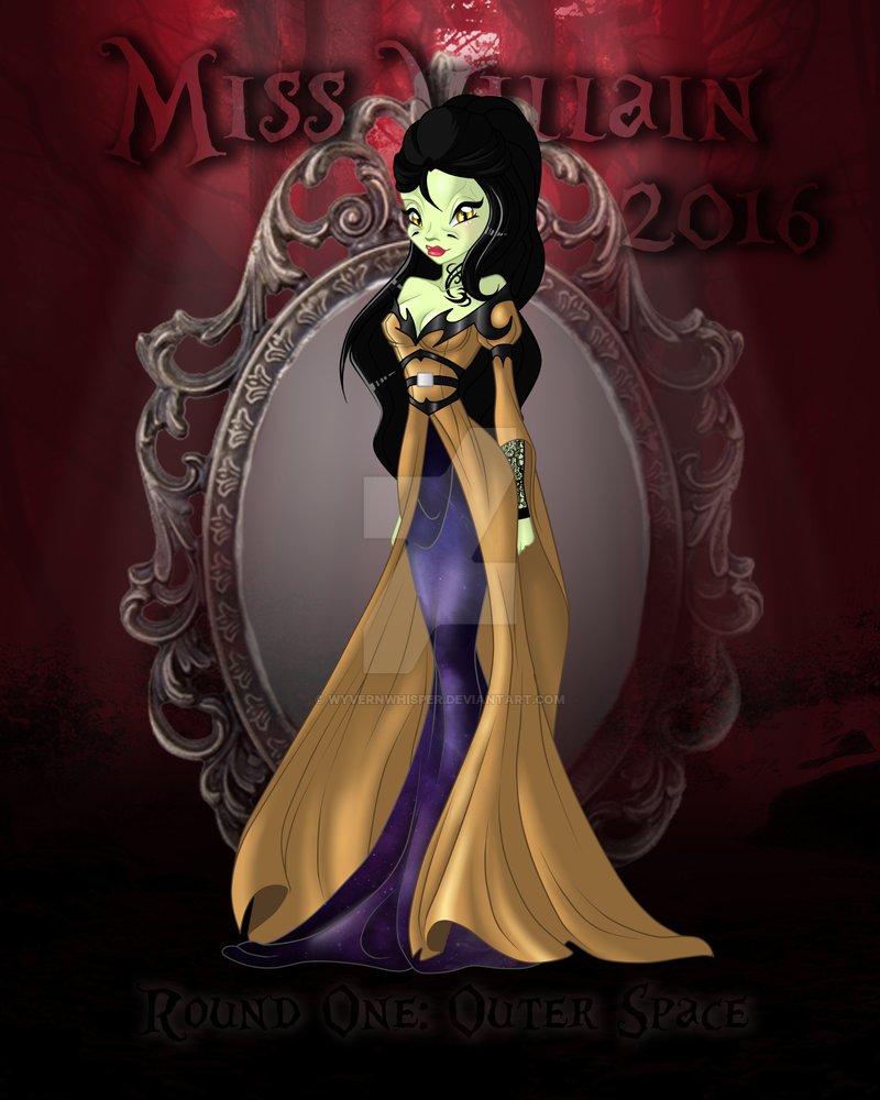 Miss villain 2016 round 1 outer space by angelicwinx on for Outer space 2016