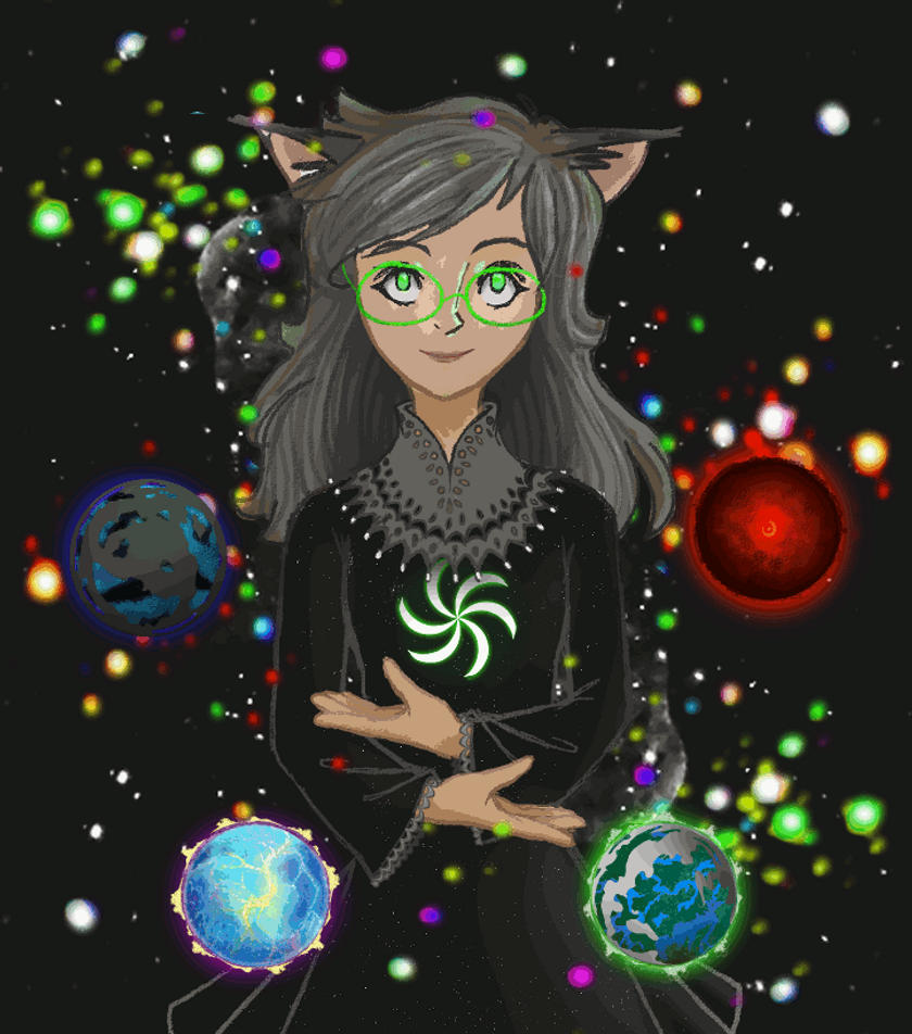 Space Jade Gif by OBatCatGirlO