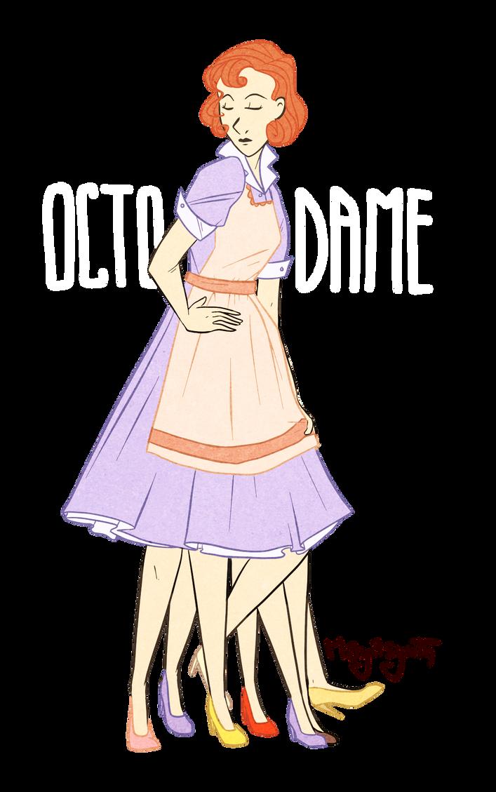 Octodame by OBatCatGirlO