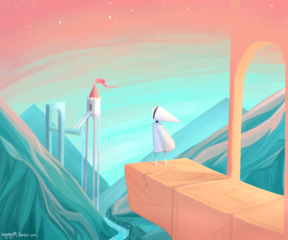 Monument Valley by OBatCatGirlO