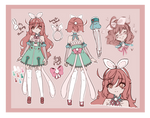 Bunny girl Adopt (Closed)