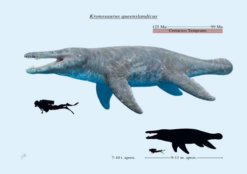 Kronosaurus queenslandicus