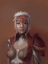 Character Portrait - Ces by aumortis