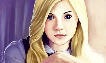 Blonde portrait by aumortis