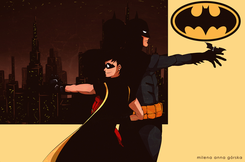 ::..Batman and Robin..:: by milena-gorska