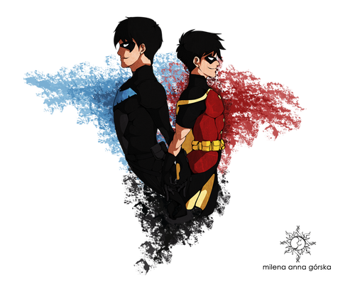 ::..Nightwing and Robin..::