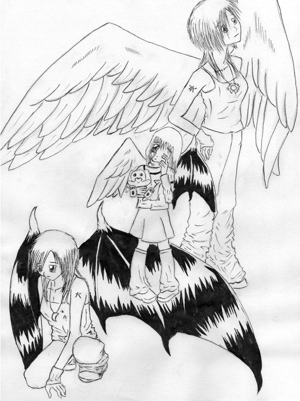 Angels by milena-gorska