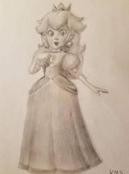 Princess Peach by superstarmario17