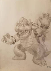 Bowser by superstarmario17